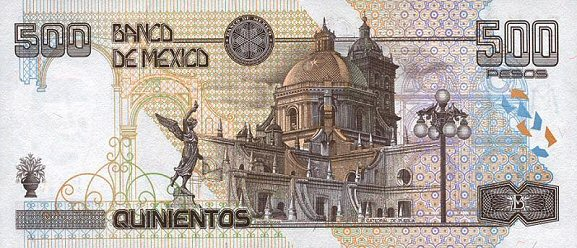 mexico bill 500 peso
