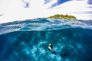 蘭嶼自由潛水|自潛初體驗:AIDA2考照課程、朗島潛店&背包客棧推薦!